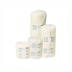 Crepe Bandage - 50mm x 4.5m with 2 metal clips 12 rolls/pack [Sale], fig. 1