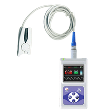 Pulse Oximeter CMS60D  hand held, continuous monitoring,, fig. 1