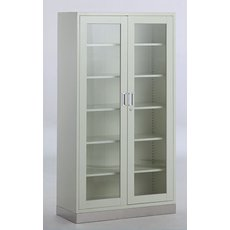2-door Appliance Cupboard with Stainless Steel Base G-19, fig. 1