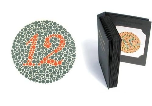 Ishihara Colour Blind Test 38 Plate, fig. 1