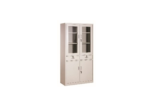 4-door Appliance Cupboard with Stainless Steel Base G-31, fig. 1